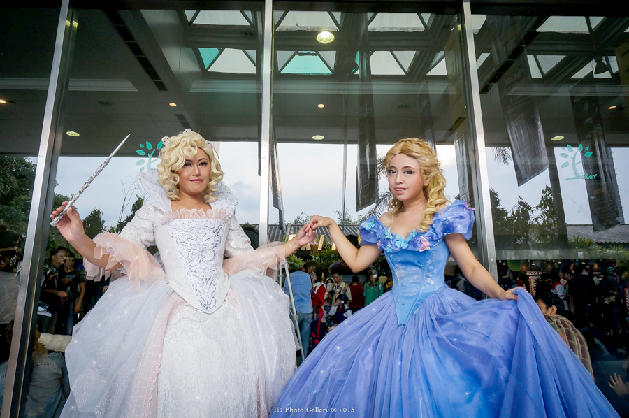 Cinderella : Ella and Fairy God Mother by oruntia
