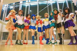 Sailor Moon : Girls by oruntia