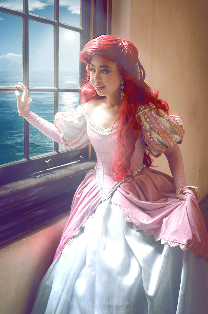 Little Mermaid : I can see the sea