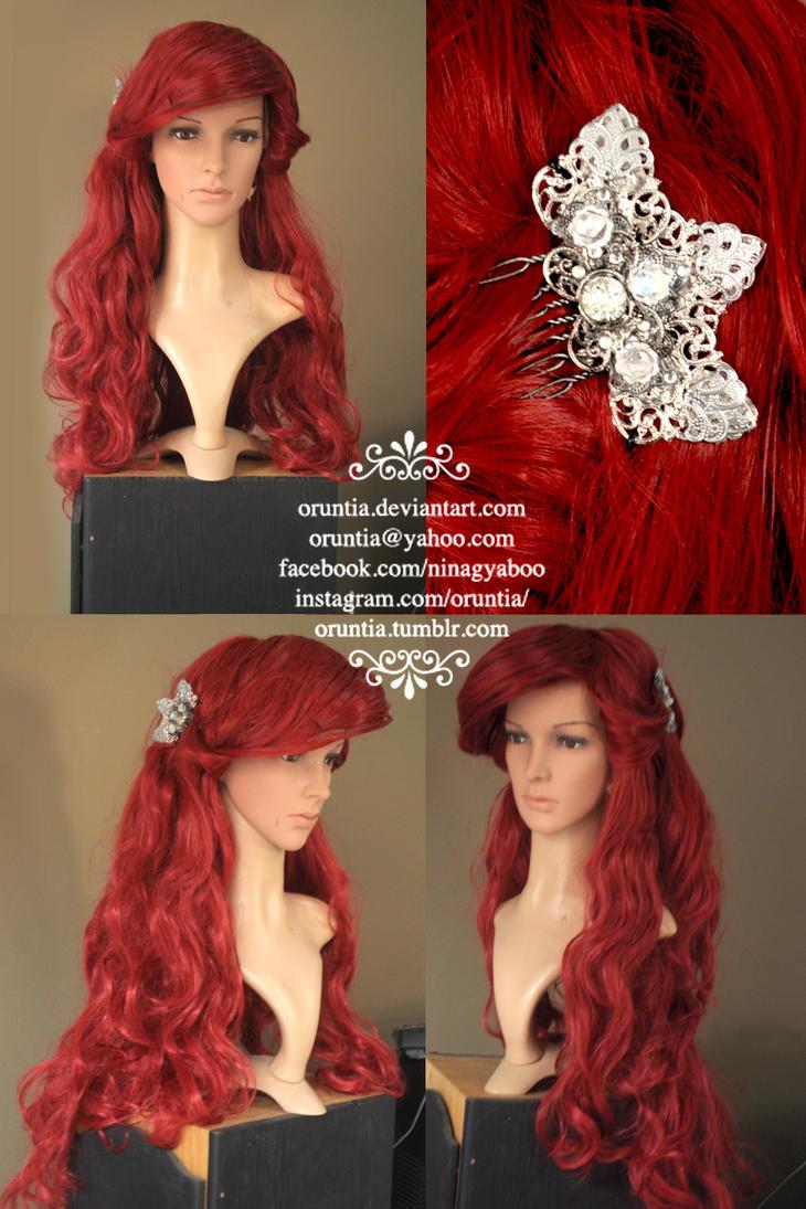 Ariel Wig by oruntia