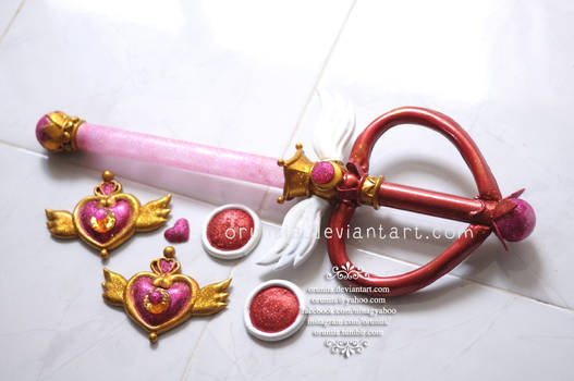 Sailor Moon Super S Wand and Brooch