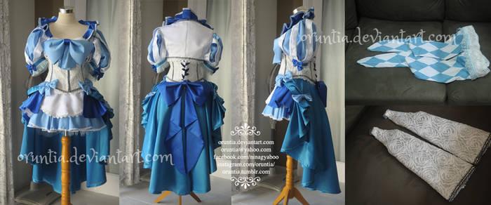 Sailor Mercury Burlesque Costume