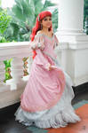 The Little Mermaid : Pink Dress by oruntia