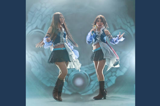 Yuna and Lene