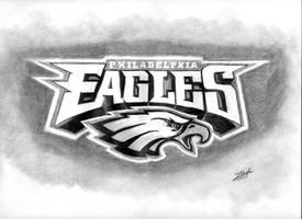 Philadelphia Eagles Logo by Xterminans