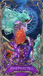 Tarot High Priestess Mistmane