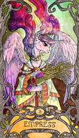 Tarot Empress Cadence by SourSketches