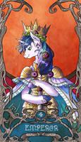 Tarot Emperor Shining by SourSketches