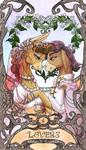 Tarot Matilda Cranky lovers