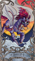 Tarot Chariot Tempest Shadow by SourSketches