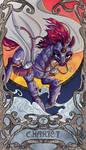 Tarot Chariot Tempest Shadow