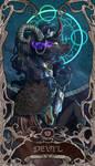 Tarot Devil Sombra