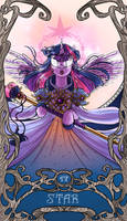 Tarot Star Twilight Sparkle by SourSketches