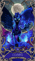 Tarot Moon Nightmare Moon by SourSketches