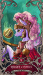 Tarot Knight of coins