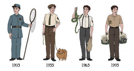 BAR Uniforms Through the Ages by TMOH