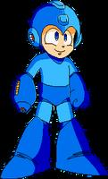 Mega Man - Full Body Pixelart