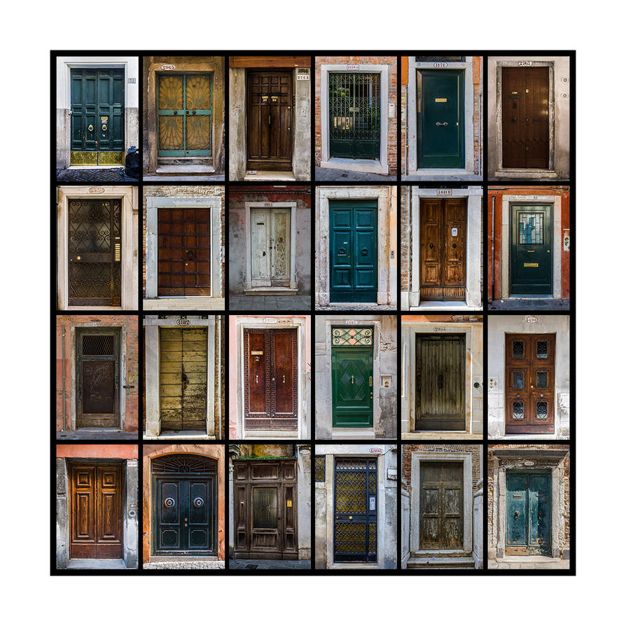 Doors of Venice by b3dnar