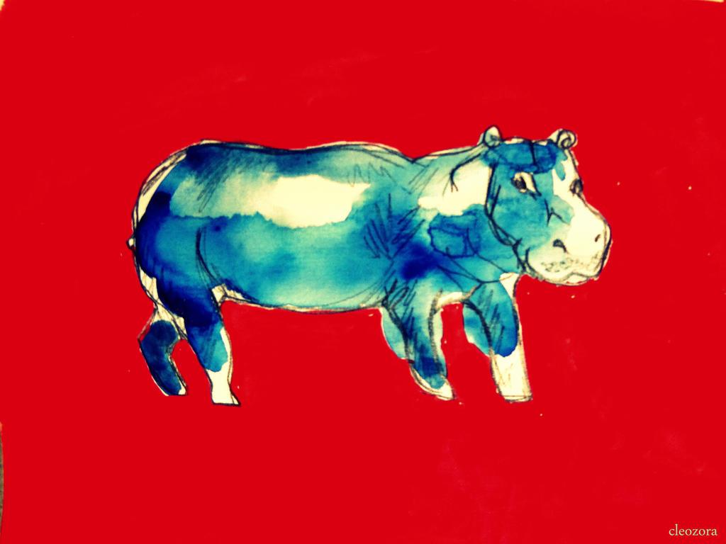 lieber gott du bist der boss, amen dein rhinozeros by FrederikeLisabet