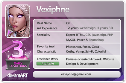 vexiphne's Profile Picture