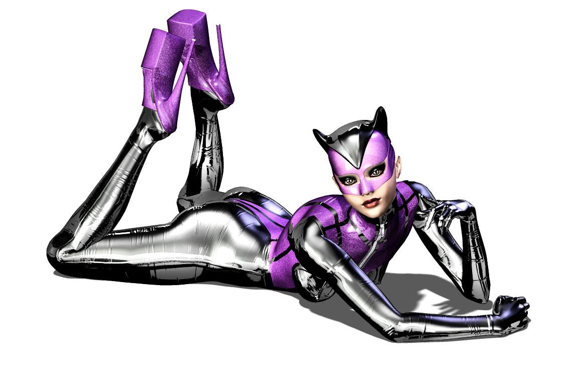 Glitter Kitty by vexiphne