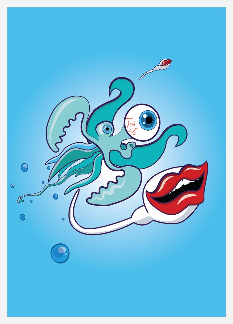 Oko-usta Monster by bagio1