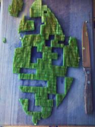 A tetris of nopal          woo by milopiko