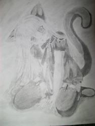 Kitty Girl by Haleykinzz