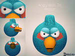 AngryBirds 3d Project  BlueBird by daniacdesign