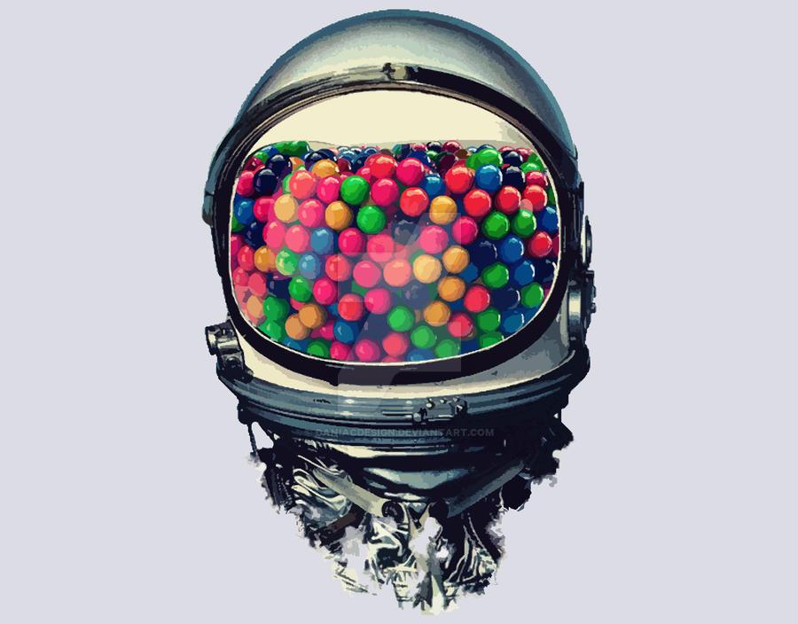 Astro Gum by daniacdesign