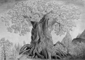 The Tree of Trifta by ColourBlindPencil