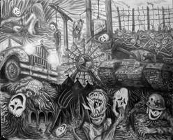 The Carnival of Fragile Lives by ColourBlindPencil
