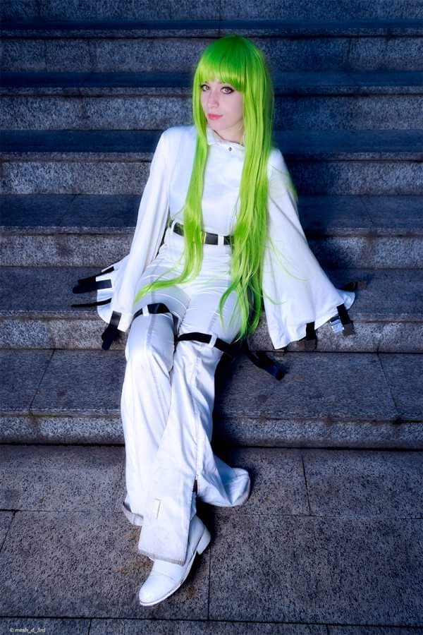 C.C. Code geass cosplay by xaerith96