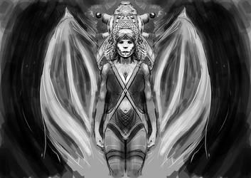 Angel fairy... kind of by mareimu