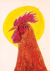 kolejny Chicken from the 90's by trzytrzy