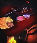Maki vs Goku