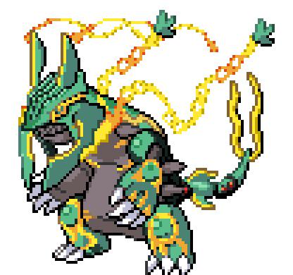 Fake Pixel Pokemonprimal Groudon Mega Rayquaza By Momo