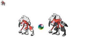 [Fake Mega Pokemon] Mega Midnight Lycanroc