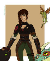 How she trained her dragons by Obligated