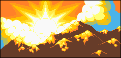 8-Bit Sunset by Pixelated-Dude