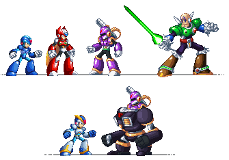Maverick Hunter X by Xeon-Licrate