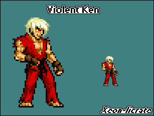 Sprite Contest1: Violent Ken by Xeon-Licrate