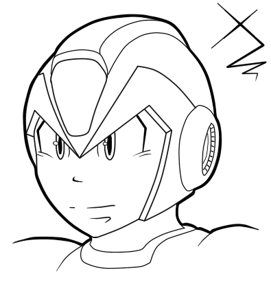Test:Megaman X Headshot by Pixelated-Dude