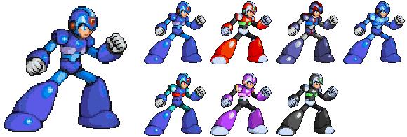 Megaman X MvC by Xeon-Licrate