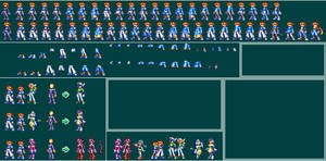 MegaMan ZX - Bases by Pixelated-Dude