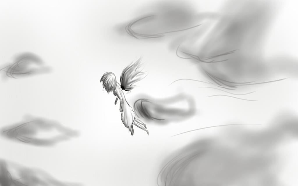 Fallen Angel by yuriko1omega