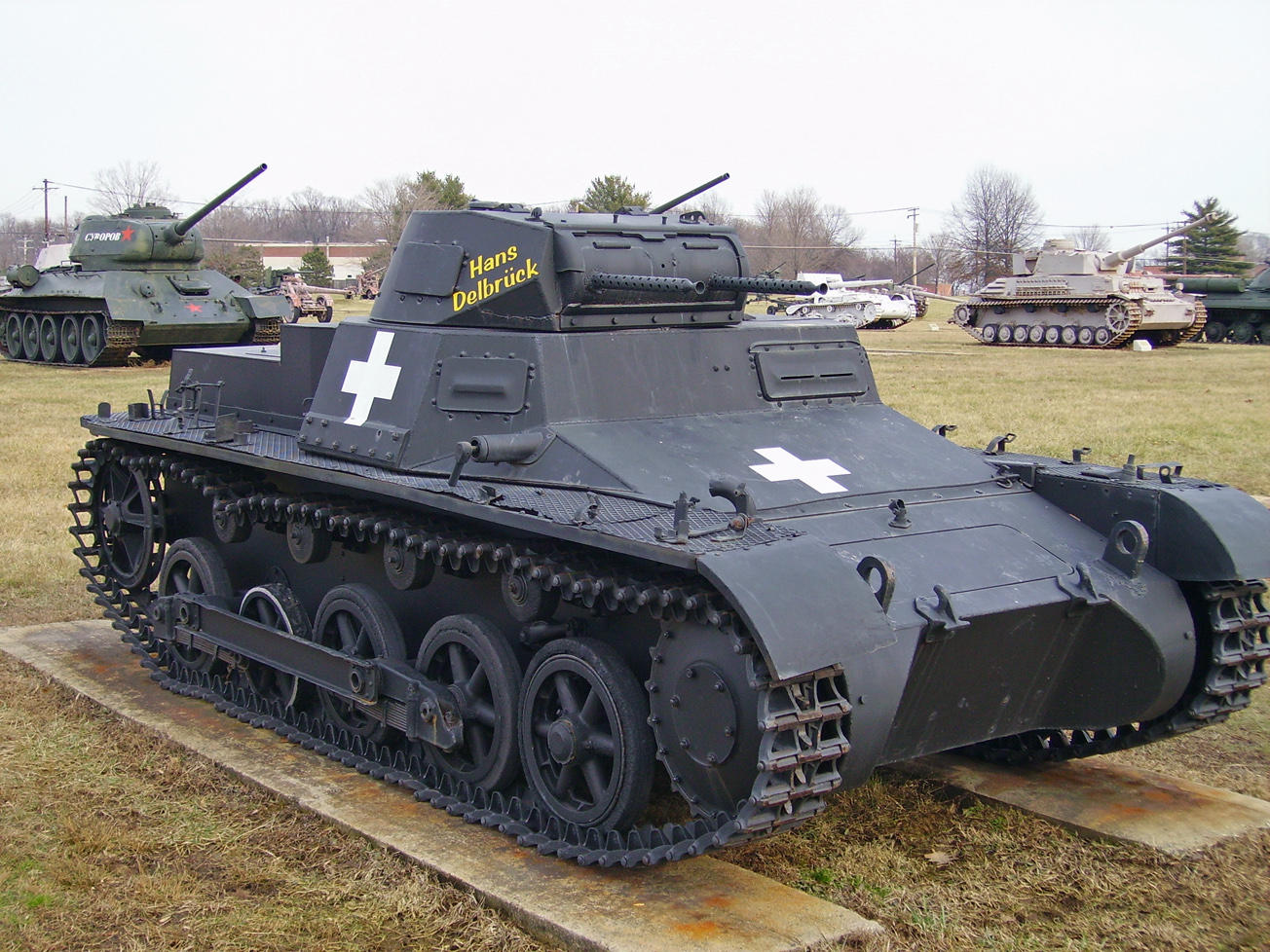 Panzer I Ausf. B by DarkWizard83