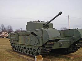 Churchill Tank by DarkWizard83