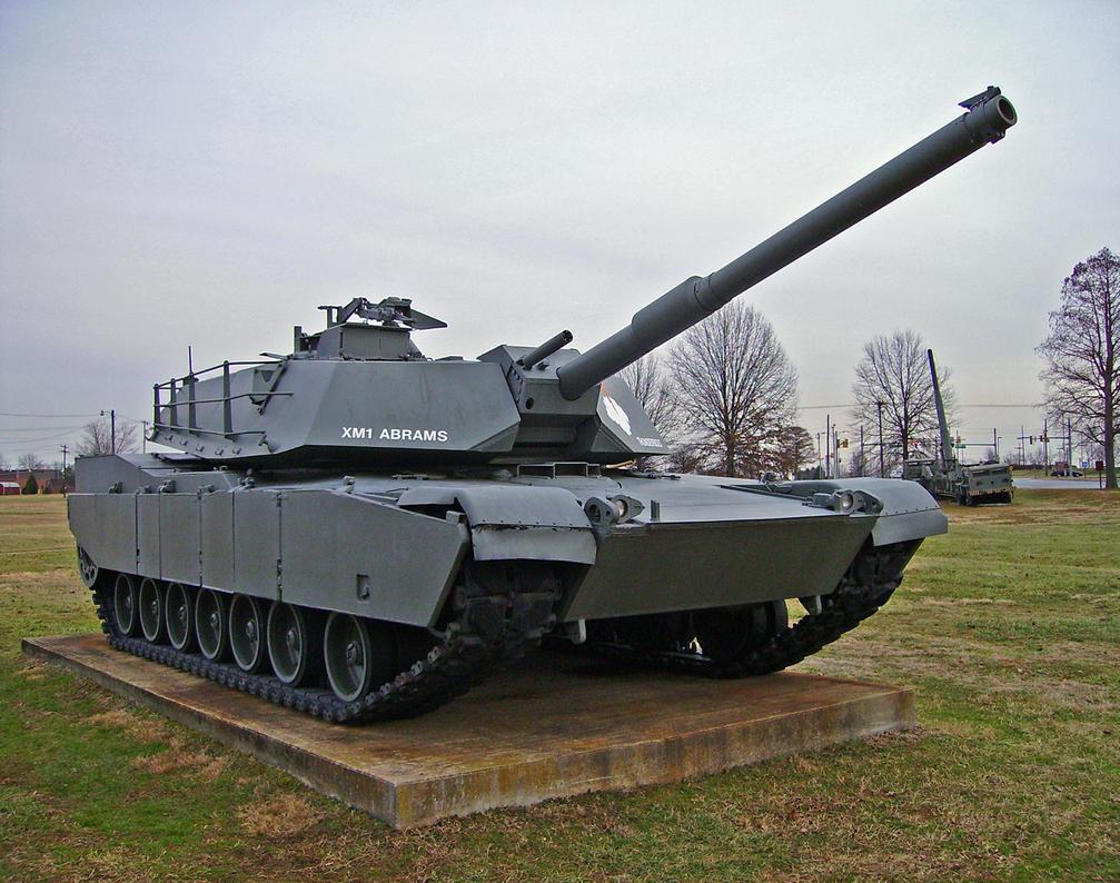 XM1 Abrams Main Battle Tank by DarkWizard83