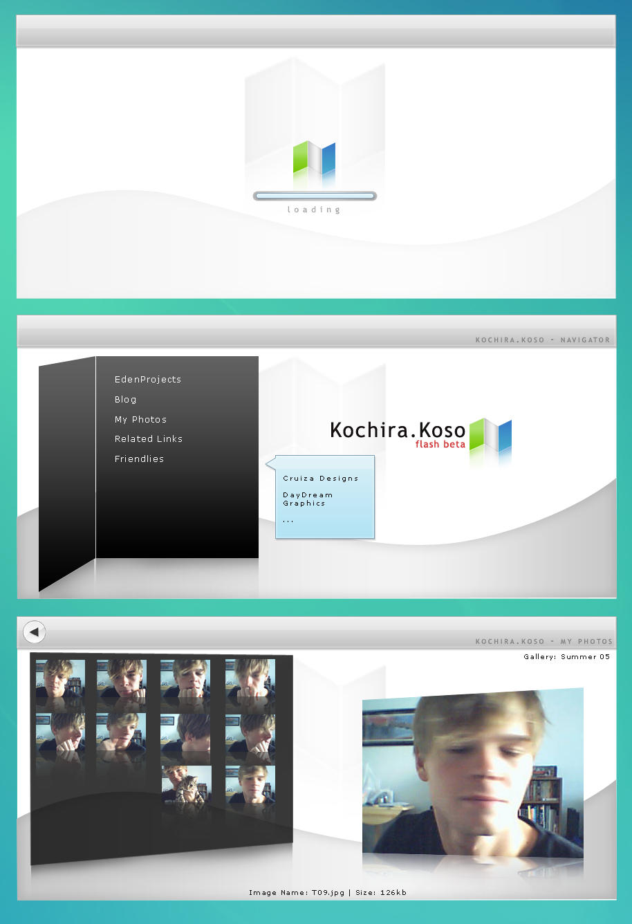 Kochira Koso Flash Beta Prev by edenprojects